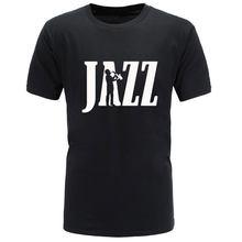 2018 summer Clothing Jazz Newest Saxophone Funny T Shirt Tshirt Men Women  Hip Hop Cotton Short e04834b98d33