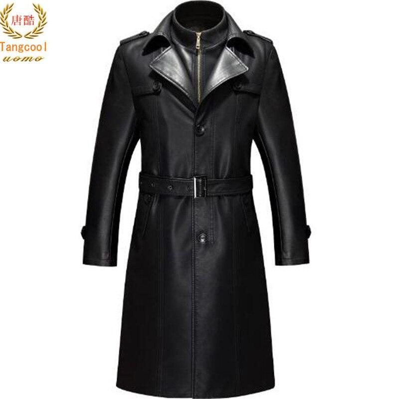 Lungo Black Pecora Giacca Cappotto Di Vestito Lana A Affari