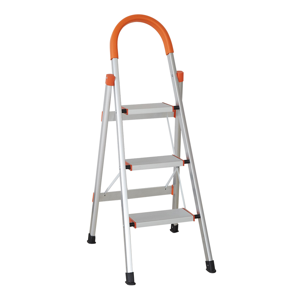 Remarkable Us 46 52 1 Off 3 Step Ladder Portable Lightweight Folding Household Stepladder Anti Slip Step Stool With Wide Platform And Handgrip In Ladders From Alphanode Cool Chair Designs And Ideas Alphanodeonline