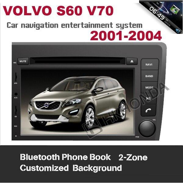Car DVD 2001 - 2004 VOLVO S60 V70 built GPS Navi Navigation Radio RDS Player System High +Free map HKHONDA Technology Electronic LTD store