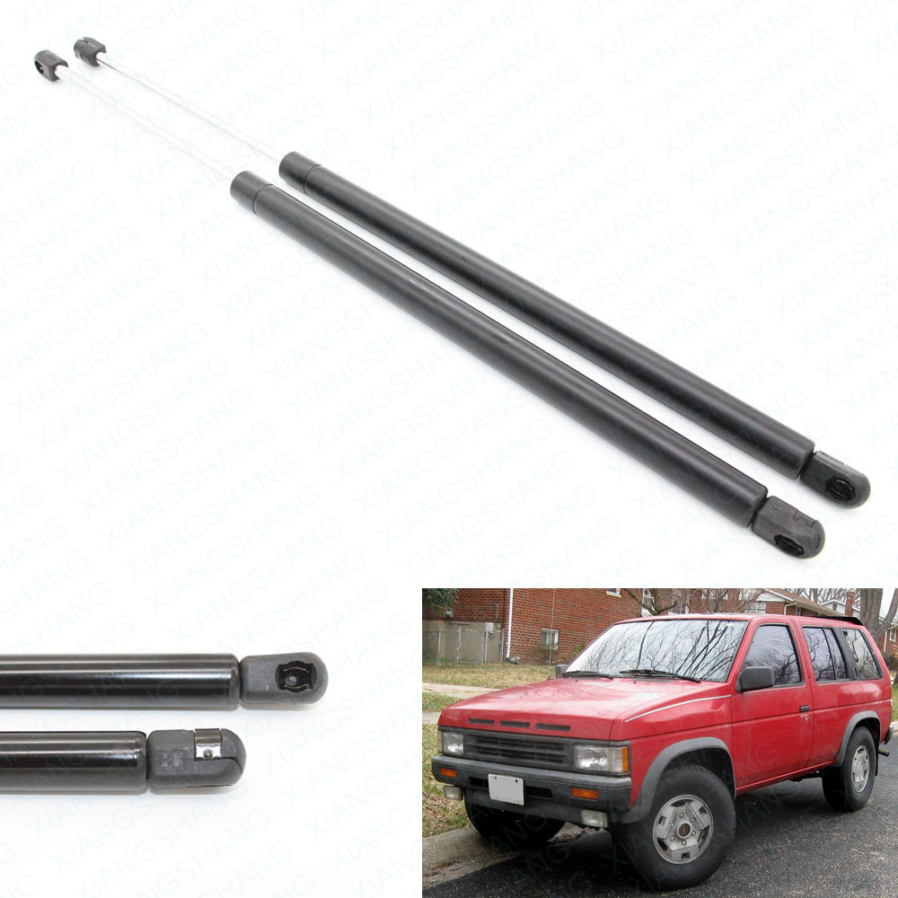 2pcs rear hatch tailgate lift supports gas struts spring for nissan pathfinderle se xe base