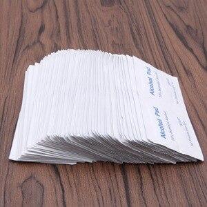 Image 4 - New 100 Pcs/Box Alcohol Wipe Pad Medical Swab Sachet Antibacterial Tool Cleanser
