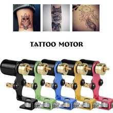 Моторная машина для татуировки, профессиональный мини набор для макияжа стрекоза, роторная машина для татуировки+ цветное колесо для шейдеров, принадлежности для татуировки