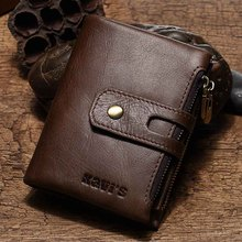 Genuine Leather Men Wallet Model 1