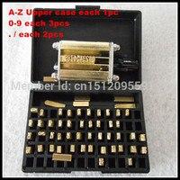 2*3*15  lettera inglese  font  caratteri per DY-8/HP-241B data macchina di codifica  timbro caldo coder  inchiostro hot roll coder  nastro coder