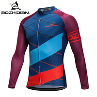 2017 AZD46S Specialized Cycling Jersey Long Sleeve Bike Funny Custom Men Maillot Ropa Ciclismo Cycling Jersey