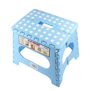 Image 5 - Taburetes de plástico grandes para niños taburete plegable portátil taburete fuerte y duradero taburete portátil para exteriores sillas de espera