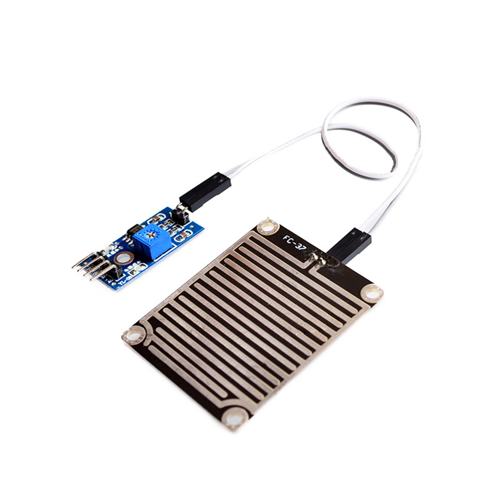 Back To Search Resultscomputer & Office New Snow/raindrops Detection Sensor Module Rain Weather Module Humidity For Arduino #904