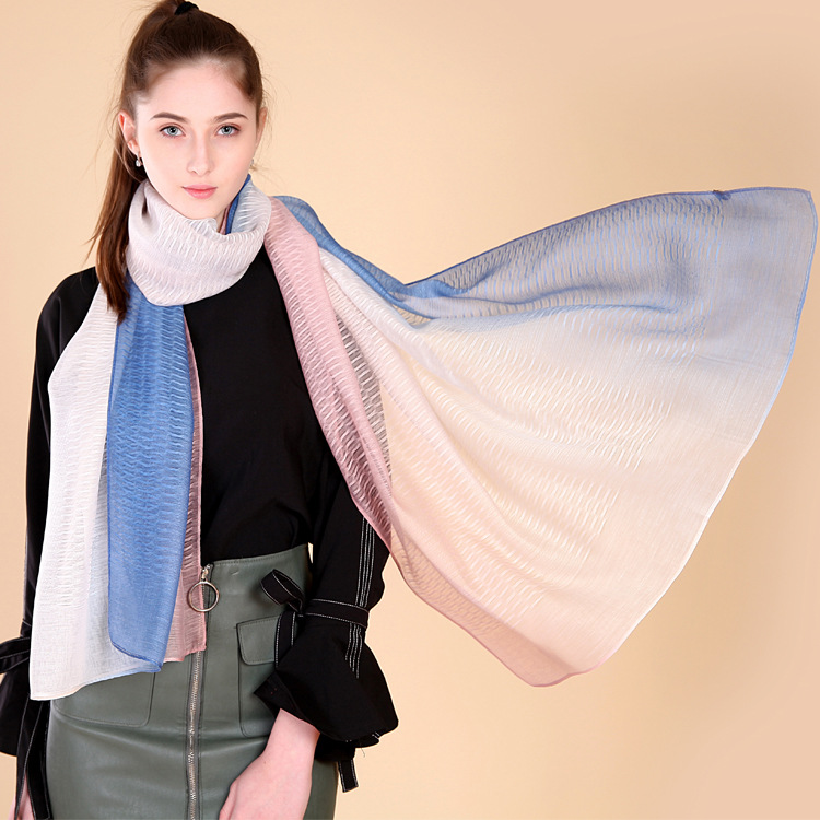 Fashion Chiffon Summer Scarf Sunscreen Beach Towel Large Scarf Scarves
