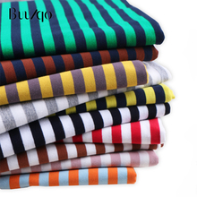 Striped cotton fabric baby knitted jersey fabric DIY sewing T-shirts dress fabric by  meter