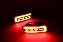 Multi-functional LED Rear Bumper Light Reflector with Fog, Brake and Turn Light For Honda CRV 2015, 2016, 2017, 2018