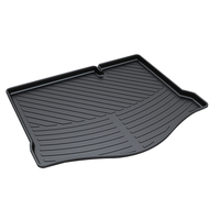 3D Car Trunk Mat Protector Cover in Heavy Duty for 2009 Hatchback Ford Focus Black