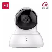 Купольная Камера YI, Панорамирование/Наклон/Зум, Беспроводная IP Безопасность, Система Наблюдения, HD 720p, Ночное Видение (Издание США/ЕС)