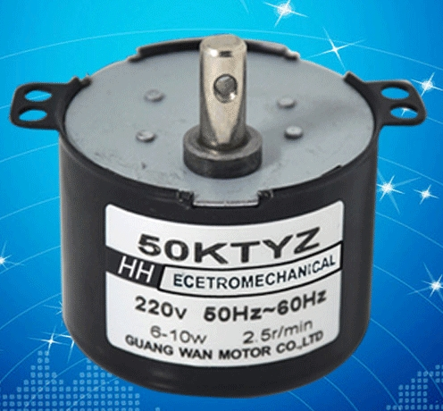 50KTYZ Permanent Magnet Synchronous Motor AC 220V 5 10 15 20 25 30 50 <font><b>RPM</b></font> AC motor image