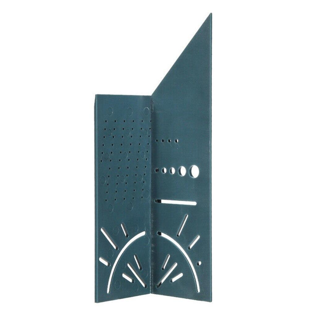 רשימת הקטגוריות נגרות 3D מיטר זווית מדידה למדידת גודל שליט כיכר כלי עם כלי הסרגל מד יערנות Scribe T-סוג 90 B4 תואר (4)