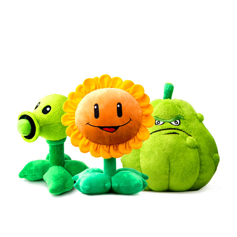 CXZYKING 1pcs 8 Styles Plants vs Zombies Plush Toys Stuffed Plush Toys Doll Baby Toy for Kids Gifts Soft Toys For Children 1pcs 48 style pc game plants vs zombies plush toys plants soft plush dolls stuffed doll figure toy for kids children gift m1 8