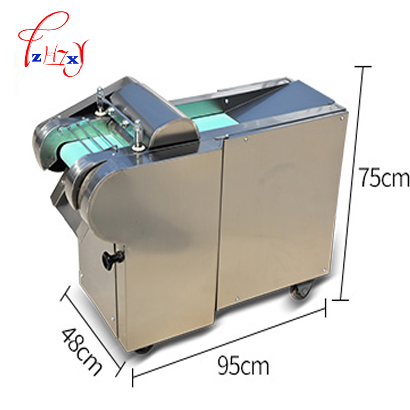 1500w electric vegetable Slicer Onion Slicing Cutter Machine Vegetable potatoes carrots Cutting Machine 660 type 1pc
