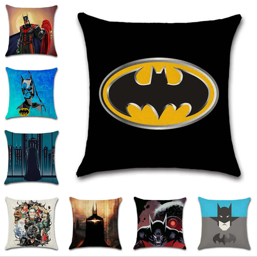 Cool Movie Comic Batman Sign Mark Cushion Cover Pillow Case Sofa Machost Co Dining Chair Design Ideas Machostcouk