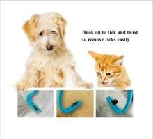 Beishuo New 20pcs/lot Tick Twister Remover Hook Tool Human Dog Pet Horse Cat Pet Comb Tools Accessory hot in aliexpress