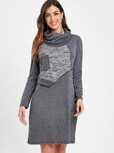 Des Achetez Block Dress Color Long Promotion 7gby6fY