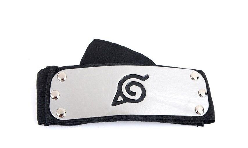 Naruto Kakashi Sasuke Hidden Anti Leaf Village Headband Konoha Cosplay Armband