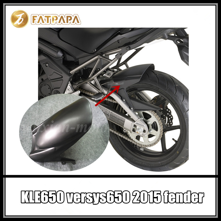 Бесплатная доставка мотоцикла задний расширитель крыла расширитель подходят Кавасаки Versys 650 KLE650 Versys 1000 2012-2017 2010-2017 КЛЕ 650