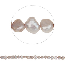 Free shipping!!!Potato Cultured Freshwater Pearl Beads,Colorful Jewelry, natural, pink, 4-5mm, Hole:Approx 0.8mm