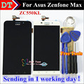 """High Quality Touch Screen and LCD Display Digitizer Assembly For Asus Zenfone Max ZC550KL 5.5 """" Cellphone 1280*720 Black Color"""