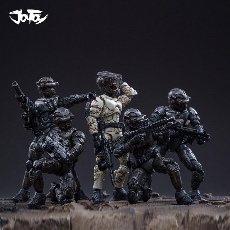 JOYTOY 1//25 X18 Mech/& Qin Lan Soldier PVC Action Figure Set of 3 New Toy
