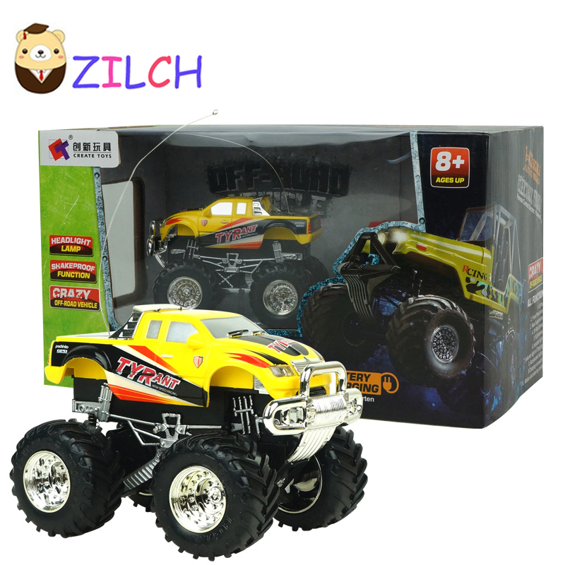2017 new arrival off road vehicle speed race remote control electric rc toy sport suv with led light best gift for kids children