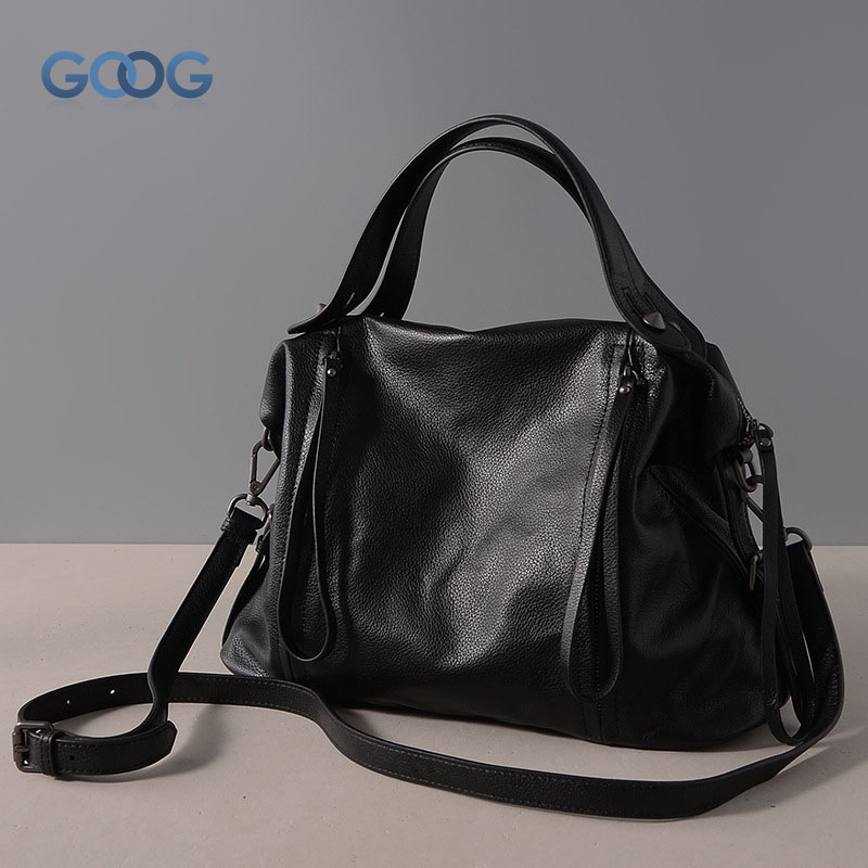 New European and American fashion first layer of cowhide diagonal shoulder bag solid color shell zipper tassel multi - color han цены