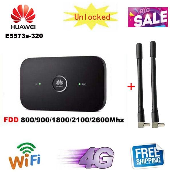 HUAWEI E5573 4G LTE 3G Cat-4 Mobile WiFi Wireless Hotspot Router WLAN Modem