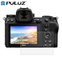 PULUZ 2.5D 9H Tempered Glass Screen Protector Film for Nikon Z6 / Z 7Digital camera Anti-Scratch LCD Film