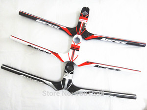 Image 1 - Neue NESS carbon fahrradlenker mountainbike carbonlenker + stamm integratived MTB fahrradteile 90 120x580 720mm kostenloser versand