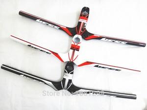 Image 1 - Nowy NESS węgla kierownica rowerowa rower górski węgla kierownica + macierzystych integratived MTB części rowerowe 90 120x580 720mm darmowa wysyłka