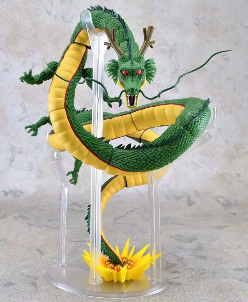 Free Shipping 11 Anime Dragon Ball Z the God Dragon Shenron SHF DB Boxed 28cm PVC Action Figure Collection Model Doll Toy Gift j g chen anime cartoon dragon ball z shenron shenlong gold pvc action figure collectible model toy free shipping