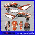 FREE SHIPPING HIGH PERFORMANCE HUSQVARNA SM610 05 06 07 08 09 10 3M TEAM GRAPHICS DECALS STICKERS KITS RACING MOTORCYCLE
