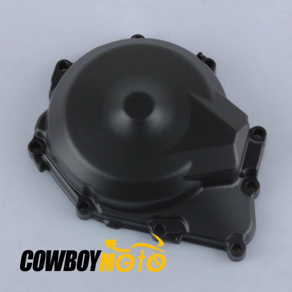 Motorcycle Stator Engine Crankcase Cover Black For YAMAHA YZFR6 YZF R6 2006 - 2010 Aluminum for yamaha yzfr6 yzf r6 2006 2007 2008 2009 2010 2011 2012 2013 2014 motorcycle engine stator cover chrome left side