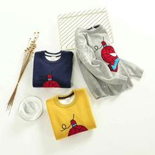 kids sweaters boys cartoon children pullover 2018 spring autumn baby boy knitted sweater winter clothes