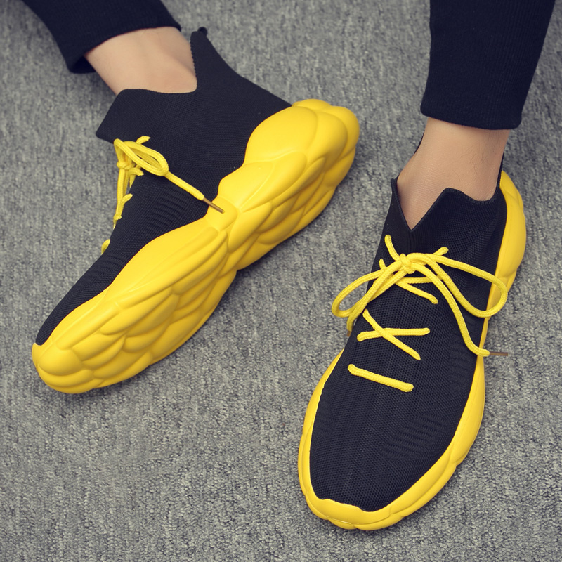 Men s casual shoes 2019 new fashion comfortable light height sports sneakers casual all purpose shoes