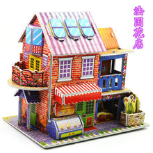 DIY Paper 3D Three-Dimensional Puzzle Children's Manual Early Education Puzzle Explosions Spread Hot Girl and Boys Toys Gifts(China)
