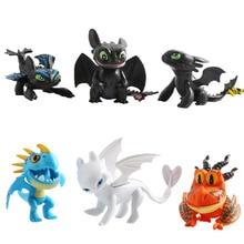 New Dragon Light Fury night fury Toothless Action figure White Dragon Toys Children Birthday Gifts цена