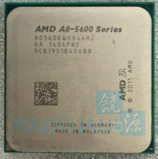 AMD A8 5600K A8 5600  A8-5600K 3.6GHz AD560KWOA44HJ 100W Processor HD 7560D Quad Core Socket FM2