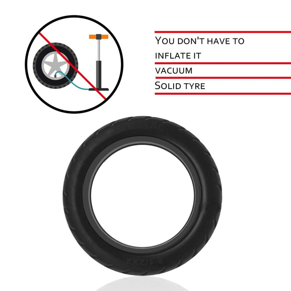 Solid Vacuum Tires 8.5X2 Micropores Suitable For Xiaomi Mijia M365 Electric Skateboard Scooter Non-Pneumatic Vacuum Wheel (11)