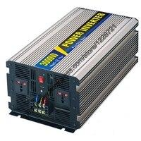 3000W Pure Sine Wave Inverter For Solar Panel 12VDC 24VDC 48VDC To AC110V 220V For Small