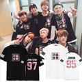 2017 New Kpop BTS Group Sakura Tops Men Tops & Tees Cotton T Shirt Women & Men Fashion Design Men's T-Shirt Sakura Printed