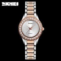 SKMEI Women S Dress Watches Luxury Fashion Casual Quartz Watch Women Ladies Waterproof Clock Wristwatches Relogio