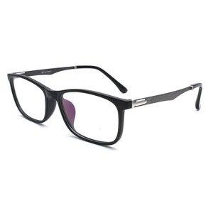 Image 3 - TR 90 プラスチック眼鏡フレーム男性ファッション光学近視処方クリアコンピュータ眼鏡フレーム X2005 フレーム眼鏡
