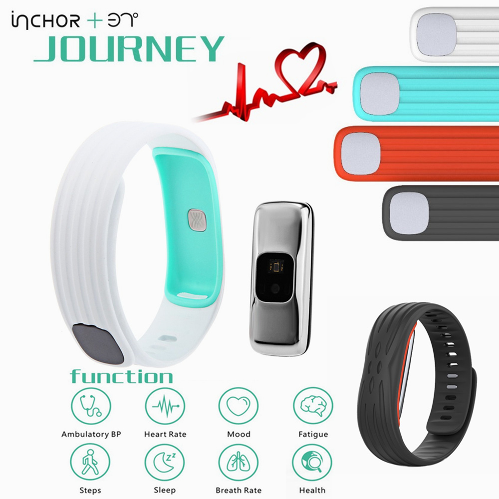 Heart rate monitor 37 Bluetooth 4 1 USB Plug Degree Journey Fatigue Track Smart Band Watch