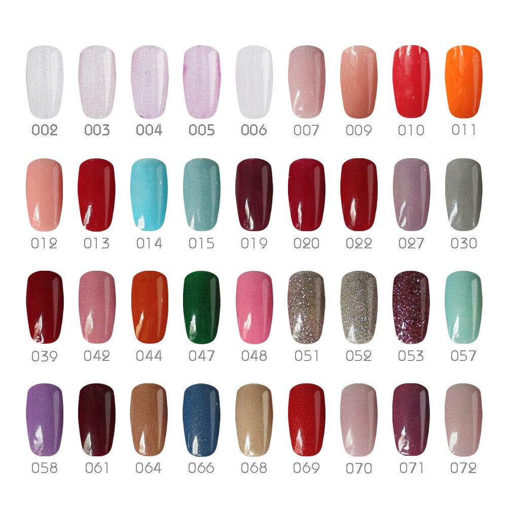 Gelike 36 Farben Extremen Glanz 10 gr/teile Set Tauch Pulver ...